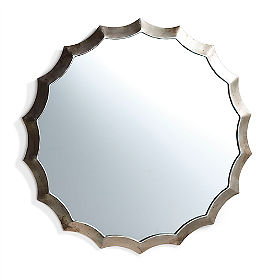 Antique Scallop Mirror