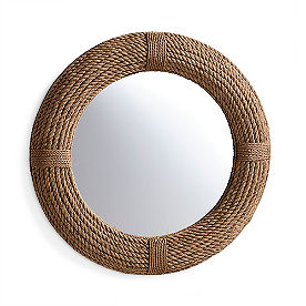 Braided Jute Mirror