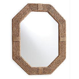 Lanyard Jute Mirror