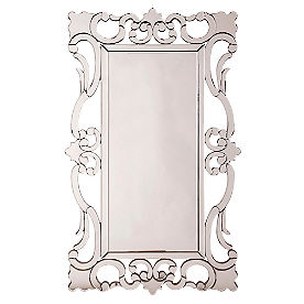 Rebecca Scroll Mirror