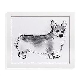 Study of Dog Artwork VI