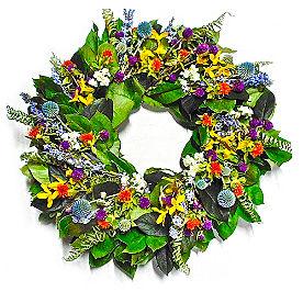 Spring Garden Wreath