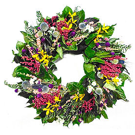 Wildflower Meadow Wreath