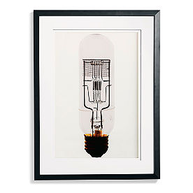 Edison Bulb Artwork I
