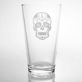 Sugar Skull Print, Set of Four