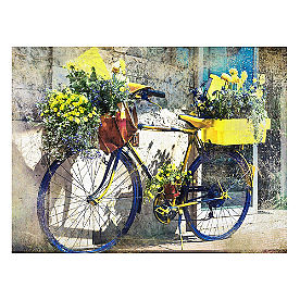 Flower Delivery Outdoor Wall Art