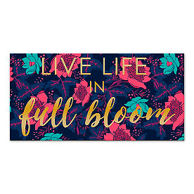 Life in Full Bloom Canvas