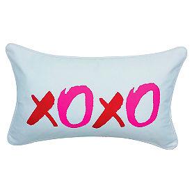 XOXO Lumbar Pillow