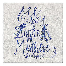 Under the Mistletoe Canvas