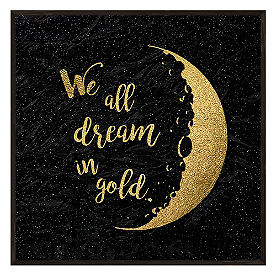 Dream Gold Wall Art