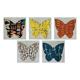 Wing Pattern Wall Art II