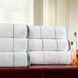 Color Banded 6-pc. Towel Set