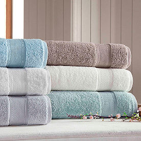Silver Collection 6-pc. Towel Set