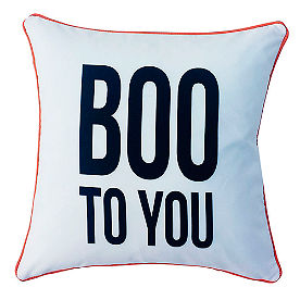Boo To You Pillow