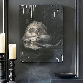 Wrapped Skull Wall Art