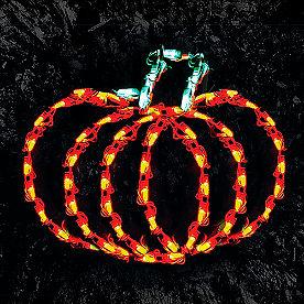 Pre-Lit LED Pumpkin