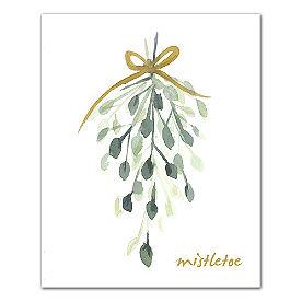 Mistletoe Canvas