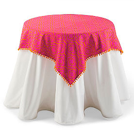 Quatrefoil Table Topper