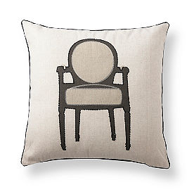 Olio Armchair Throw Pillow