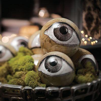 eyeball orbs set of eight grandin road