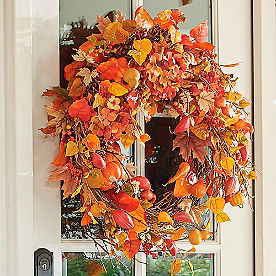 Harvest Moon Wreath