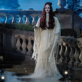 Life-size Eerie Eva Figure