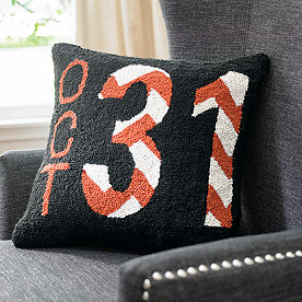 Halloween October 31 Hook Pillow