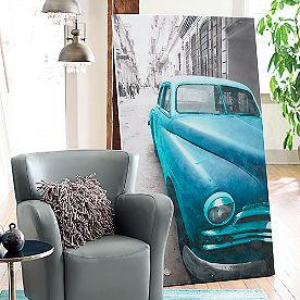 Vintage Car Wall Art