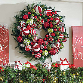 Deck the Halls Wreath