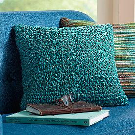 Ruched Velvet Pillow