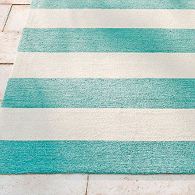Kinley Outdoor Stripe Area Rug