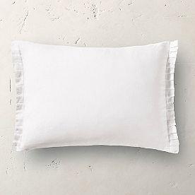 Ruffled Lumbar Pillow