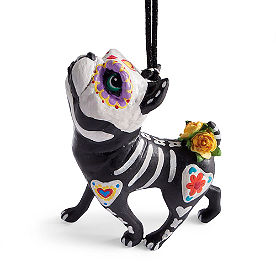 Katherine's Collection Boxer Puppy Love Ornament