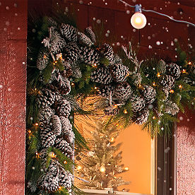 First Frost Cordless Garland