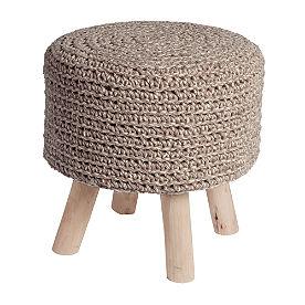 Finn Knit Ottoman