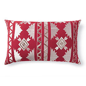 Aztec Embroidered Pillow
