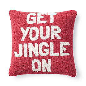 Get your Jingle On Pillow