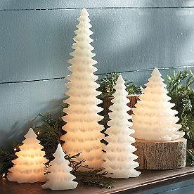 Tree Shaped LED Candle