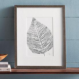 Silver Leaf Artwork