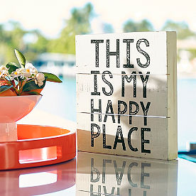 Happy Place Wall Art