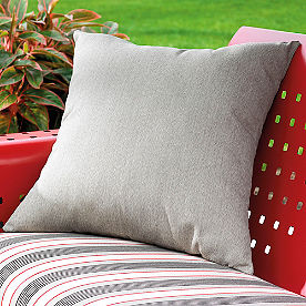 Square Perfectly Suited Outdoor Pillow