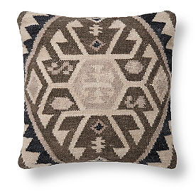 Neutral Kilim Tarsus Pillow