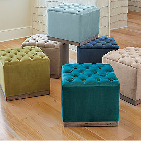 Betty Tufted Ottoman