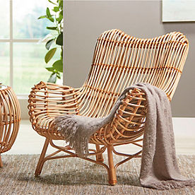 Sairah Rattan Arm Chair