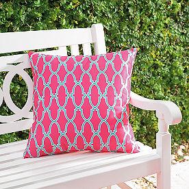 Charleston Ashley Outdoor Pillow