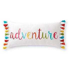 Adventure Tassel Pillow