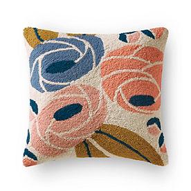 Fleur Hook Poppy Pillow