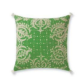 Verde Vintage Green Pillow