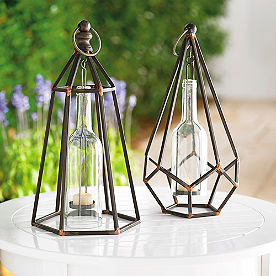Princeton Hanging Tea Light Holder, Set of Two