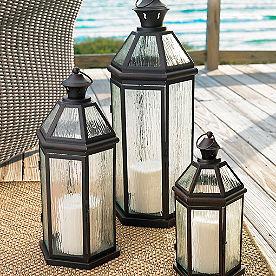 Callaway Lanterns, Set of Three